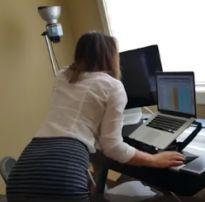 Colegas de trabalho fazer sexo