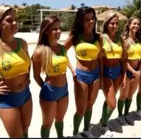 Sexo em grupo com muitas brasileiras gostosas