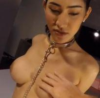 Asian delícia travesti