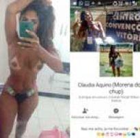 Morena rabuda mandou fotos amadoras pro grupo do zap e ficou famosa