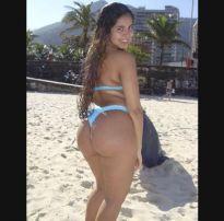 Novinha linda do rabão iniciando no pornô – brazilian sex